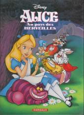 Les classiques du dessin animé en bande dessinée -25a- Alice au pays des merveilles
