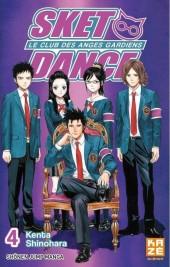 Sket Dance - Le club des anges gardiens -4- Tome 4