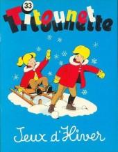 Titounet et Titounette -33- Jeux d'hiver