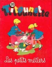 Titounet et Titounette -20- Les petits métiers