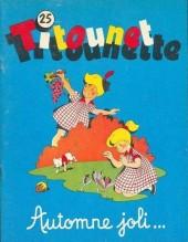 Titounet et Titounette -25- Automne joli...