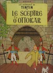 Tintin (Historique) -8B11- Le sceptre d'ottokar