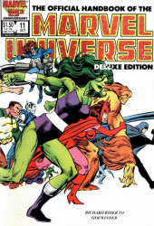 Official handbook of the Marvel Universe Vol.2 - Deluxe Edition (1985) -11- Richard Rider to Sidewinder