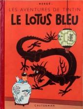 Tintin (Historique) -5B05- Le lotus bleu