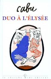 (AUT) Cabu - Duo à l'Élysée