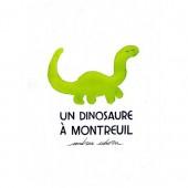 Un dinosaure à Montreuil