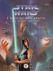 Star Wars - Le cycle de Thrawn (Dark Horse) -1- L'héritier de l'empire - Tome 1