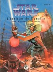 Star Wars - Le cycle de Thrawn (Dark Horse) -3- L'héritier de l'Empire - Tome 3