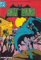 Batman (collection Le Justicier) -1- Rendez-vous à Paris !