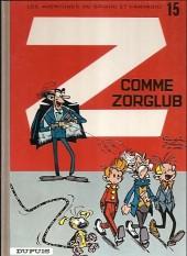 Spirou et Fantasio -15i12- Z comme Zorglub