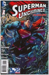 Couverture de Superman Unchained (2013) -1- The leap