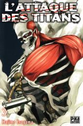 L'attaque des Titans -3- Tome 3