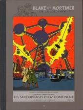 Blake et Mortimer - La collection (Hachette) -16- Les Sarcophages du 6e continent - Tome I - La Menace universelle