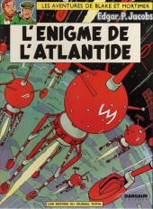 Blake et Mortimer (Les aventures de) (Historique) -6e1970- L'Énigme de l'Atlantide