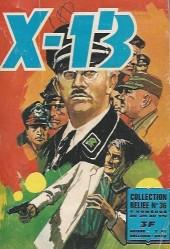 X-13 agent secret -Rec36- Collection reliée N°36 (du n°276 au n°279)