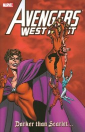 Avengers West Coast (1989) -INT- Darker than Scarlet