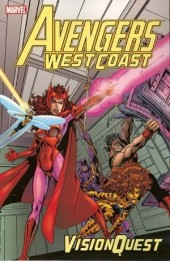 Avengers West Coast (1989) -INT- Vision Quest