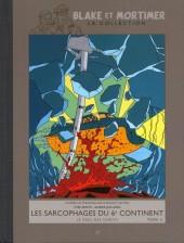 Blake et Mortimer - La collection (Hachette) -17- Les Sarcophages du 6e continent - Tome II - Le Duel des esprits