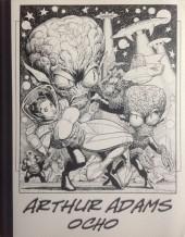 (AUT) Adams, Arthur -8- Arthur Adams Sketchbook VIII