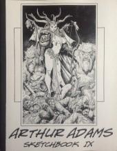 (AUT) Adams, Arthur -9- Arthur Adams Sketchbook IX
