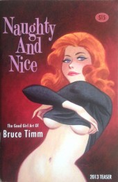 (AUT) Timm, Bruce (en anglais) -2013- Naughty and Nice: The Good Girl Art of Bruce Timm Teaser