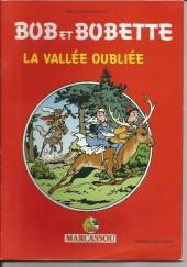 Bob et Bobette (Publicitaire) -Marc1- La vallée oubliée