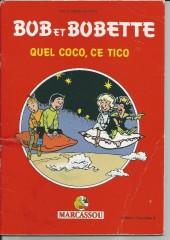 Bob et Bobette (Publicitaire) -Marc3- Quel Coco, ce Tico