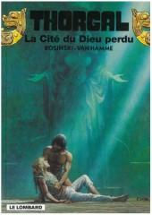 Thorgal -12Pub99- La Cité du Dieu perdu