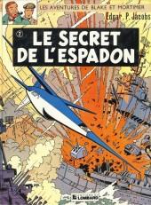 Blake et Mortimer (Historique) -2d88- Le Secret de l'Espadon 2