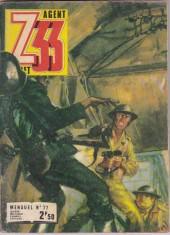 Z33 agent secret -77- L'ennemi est à demeure