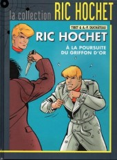 Ric Hochet - La collection (Hachette) -78- À la poursuite du Griffon d'or
