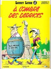 Lucky Luke -18f13- À l'ombre des derricks