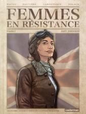 Femmes en résistance -1- Numéro 1 - Amy Johnson