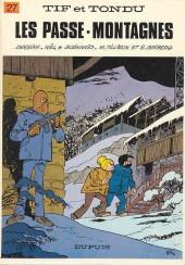 Tif et Tondu -27a83- Les passe-montagnes