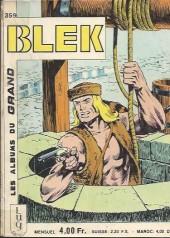 Blek (Les albums du Grand) -359- Le complot des producteurs