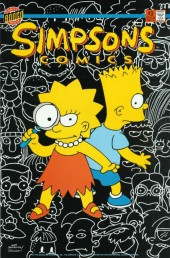 Simpsons Comics (1993) -3- The Perplexing Puzzle of the Springfield Puma; Krusy, Agent of K.L.O.W.N.
