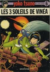 Yoko Tsuno -6a1977- Les 3 soleils de Vinéa