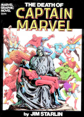 Marvel Graphic Novel (Marvel comics - 1982) -1- The death of Captain Marvel