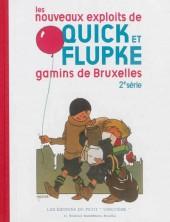 Quick et Flupke -5- (Casterman, Fac-similé N&B) -2- Les nouveaux exploits des Gamins de Bruxelles