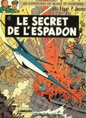 Blake et Mortimer (Historique) -2d74- Le Secret de l'Espadon 2