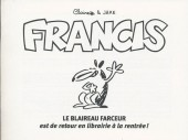 Francis - Tome HS