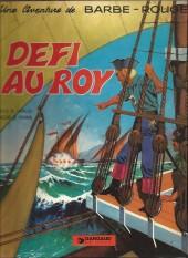 Barbe-Rouge -4a1981- Défi au roy