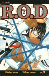 R.O.D. (Read or die) (2006) -3- Reading Can Be Deadly