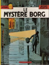 Lefranc -3d1981- Le mystère Borg
