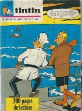 (Recueil) Tintin (Album du journal - Édition française) -HS57- Tintin album du journal (n° 1070 à n° 1073)
