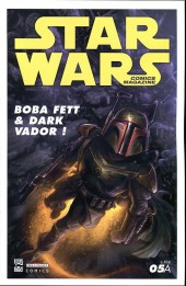 Star Wars - Comics magazine -5A- Boba Fett & Dark Vador !