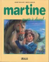 Martine -16b- Martine monte à cheval