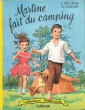 Martine -9- Martine fait du camping