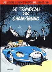 Spirou et Fantasio (Une aventure de.../Le Spirou de...) -3b2010- Le tombeau des Champignac