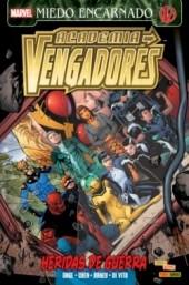 Academia Vengadores -4- Heridas de Guerra